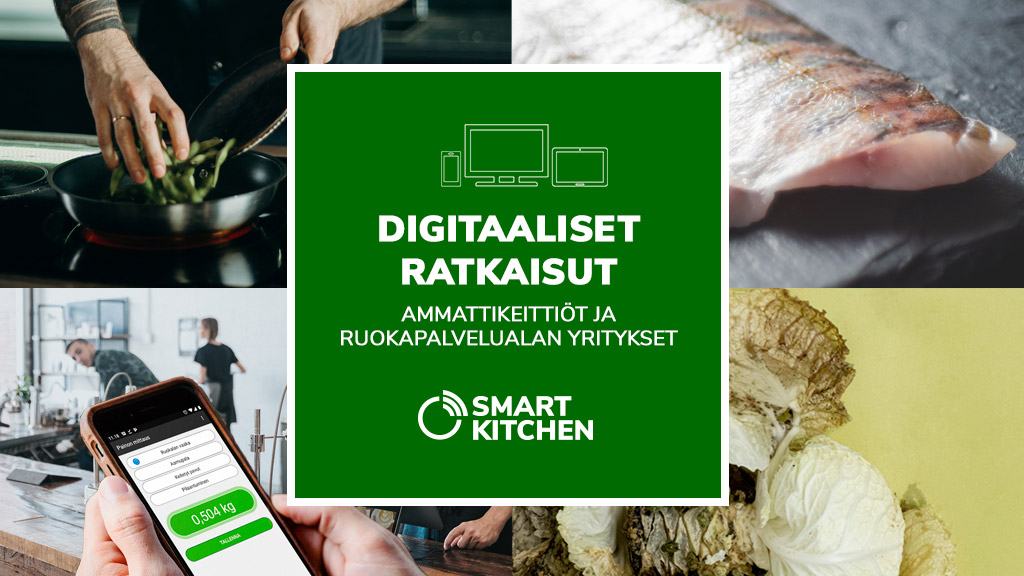 Smart Kitchen digitaaliset palvelut
